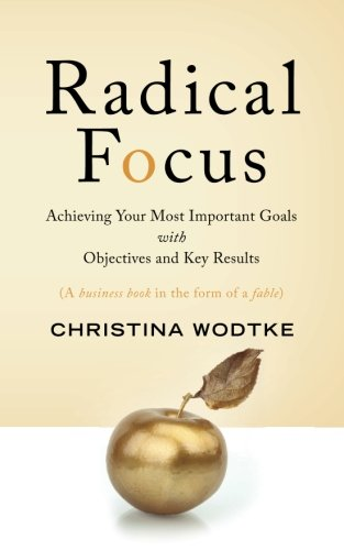 Radical Focus Achieving Your Most Important Goals with Objectives and Key Results